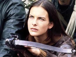 "2. Carole Bouquet as Melina Havelock in ""For Your Eyes Only"" (1981): A controversial choice for the second most stylish Bond girl, but Bouquet, a former Chanel model, sports some timeless looks (please ignore the garish yellow jumpsuit) with her cream blazers and linen trousers. She's not particularly flashy, but who doesn't love a woman in a safari suit, all wrapped up with a Sheena Easton theme song?"